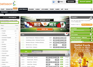 Wedden op Nederland-Mexico Bij Betsson