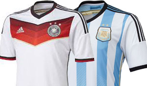 Wat wordt de opstelling van Duitsland en Argentinië?