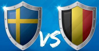 EK Rode Duivels - Zweden - Belgie