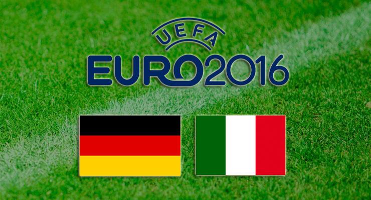 Voorspellingen Duitsland - Italie -- EK 2016