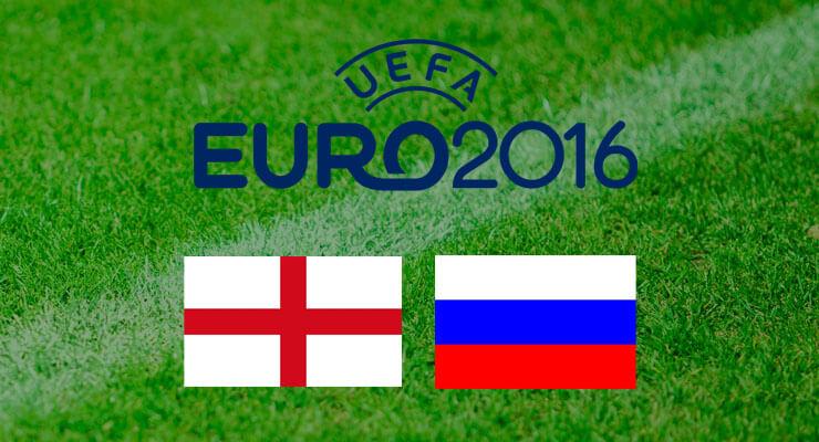 UEFA Euro 2016: Engeland - Rusland