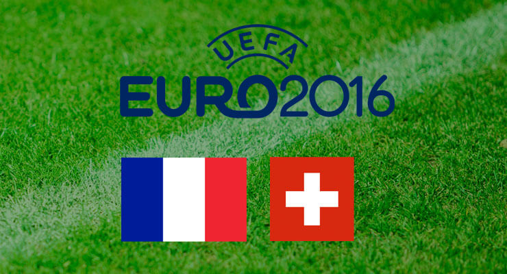UEFA Euro 2016: Frankrijk - Zwitserland