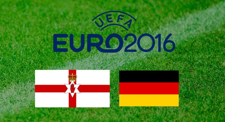 UEFA Euro 2016: Noord Ierland - Duitsland