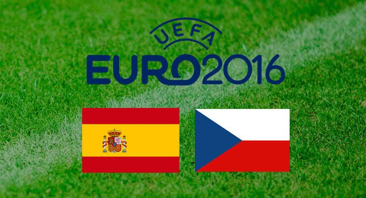 UEFA Euro 2016: Spanje - Tsjechië