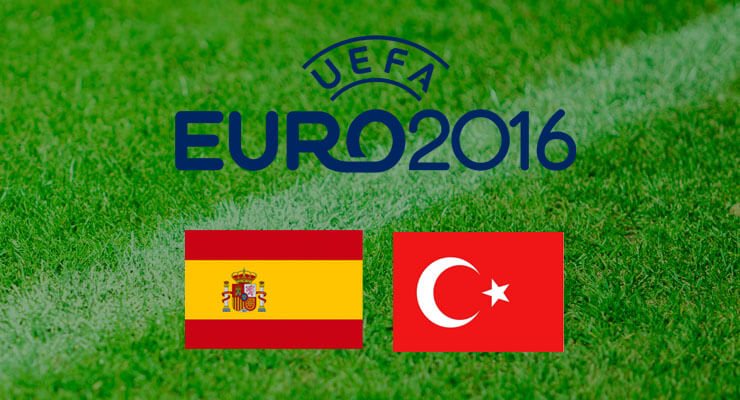 UEFA Euro 2016: Spanje - Turkije