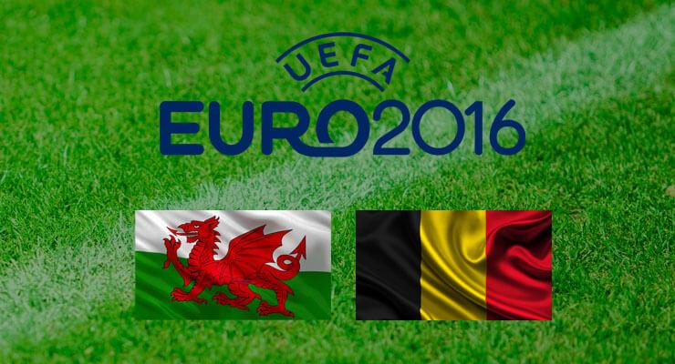 Kwartfinale EK voetbal: Wales - Belgie