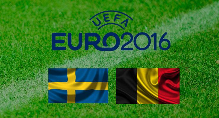 UEFA Euro 2016: Zweden - Belgie