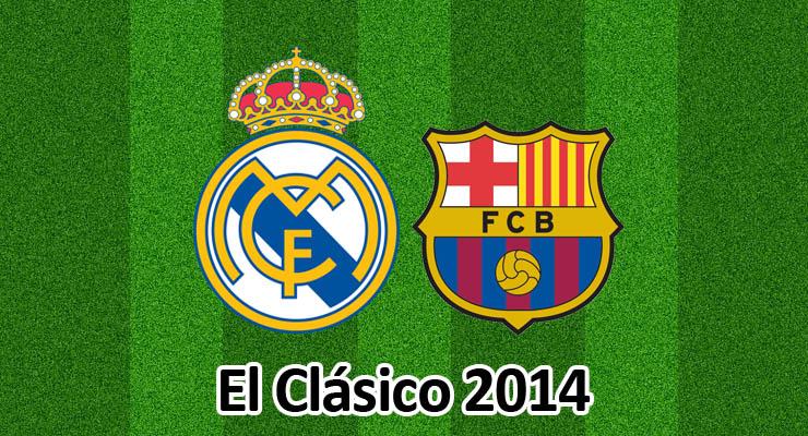 El Clasico 2014: Real Madrid - FC Barcelona