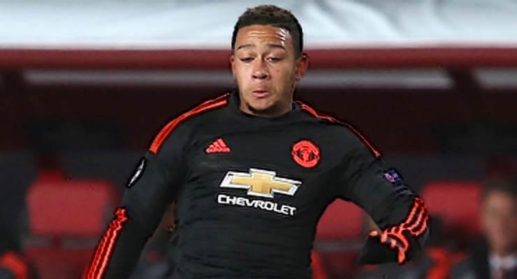 United Speler Memphis Depay