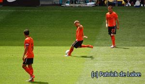Wesley Sneijder in actie