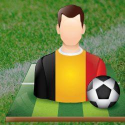 EK voetbal 2016: Selectie Rode Duivels met de Rugnummers van het Belgisch Elftal