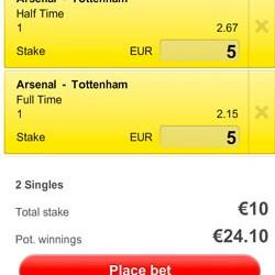 Premier League: Arsenal favoriet in Londens onderonsje tegen Tottenham