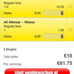 Eredivisie: Spannende confrontatie tussen AZ en Vitesse
