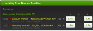Odds EK Hockey Dames Finale