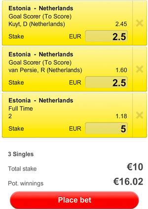 Estland - Nederland