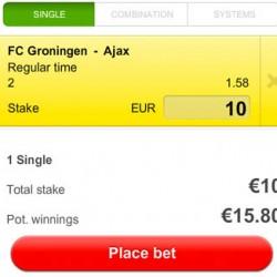 Eredivisie: Groningen wordt lastig uitduel voor Ajax