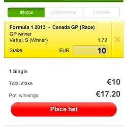 Formule 1 Canada: Wint Vettel vanaf Pole?