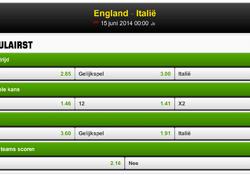 WK 2014 groep D: Voorbeschouwing Engeland – Italië (14 juni)