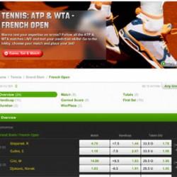 Risicovrij wedden op Roland Garros bij Unibet