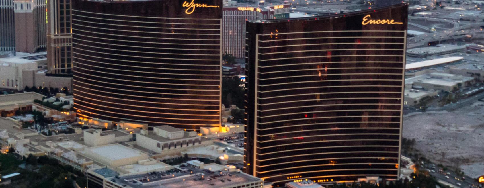 Wynn Casino en Encore Casino, aan de Las Veas Strip