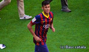 Neymar, ster bij Baracelona en Brazilie