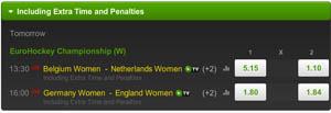 Odds EK Hockey Dames Finale